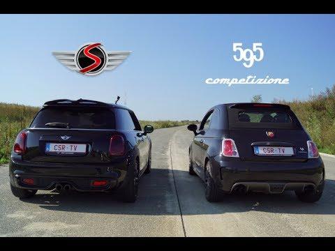 Mini Cooper S Vs Fiat Abarth 595 Competizione Youtube
