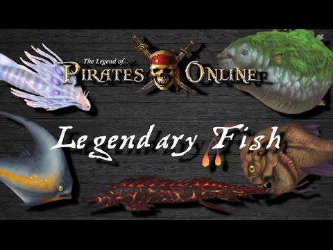 TLOPO: Legendary Fish