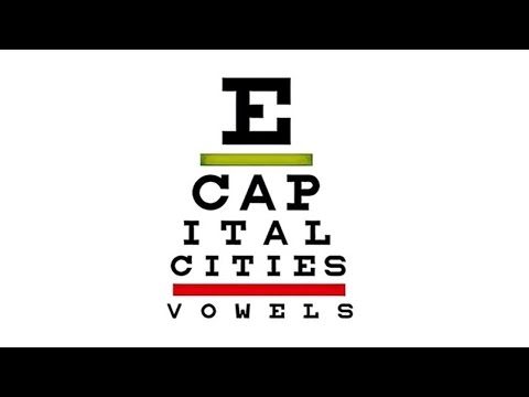 Capital Cities - Vowels (Audio)