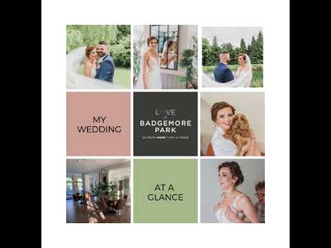 WEDDINGS at BADGEMORE Park in Henley-on-Thames