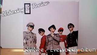 SHINee - Everybody CD Unboxing & Review
