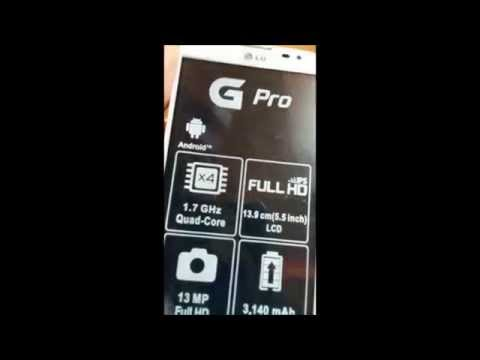 UNBOXING LG Optimus G PRO AliExpress