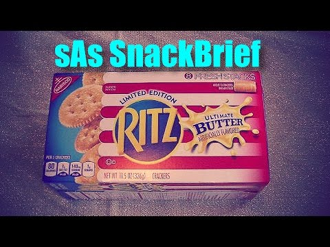 sAs SnackBrief: Ritz Ultimate Butter Limited Edition