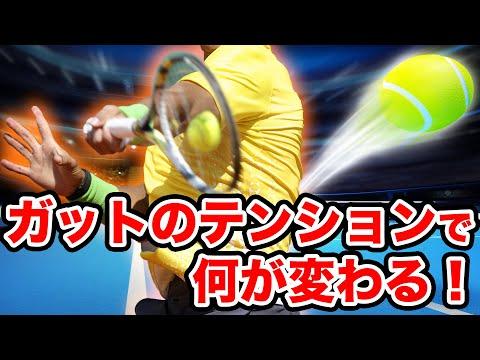 ガットのテンションでラケットの性能が大きく変わる理由硬式・ソフトテニス