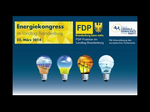 "Energiekongress 2014: Diskussion ""Was kostet uns die Energiewende in Brandenburg?"""