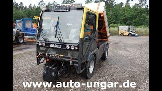 Youtube-Video Ladog T 1400 4x4x4 Kipper  Kommunal Allrad Allradlenkung Motorschaden