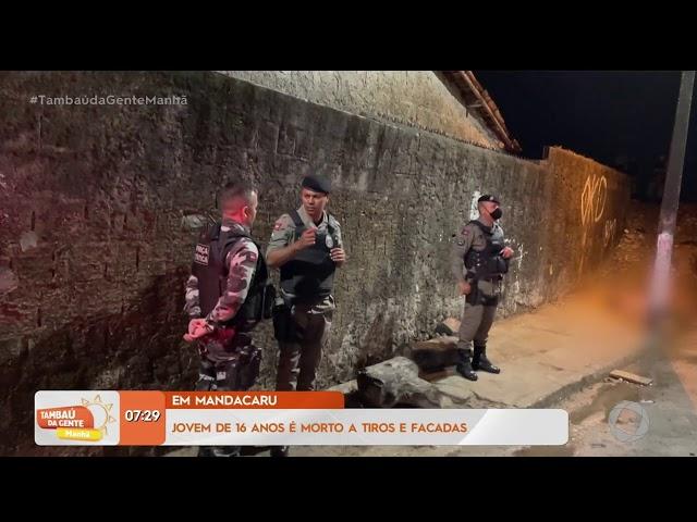 Tambaú da Gente Manhã - Jovem de 26 anos é morto a tiros e facadas em Mandacaru