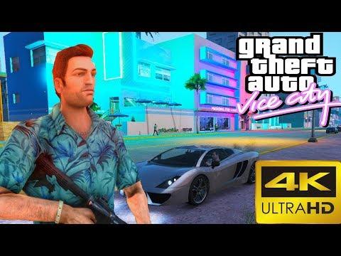 НОВАЯ GTA Vice City 2020 НА УЛЬТРА МАКСИМАЛКАХ В 4К 60FPS ► Обзор GTA 5 Vice City