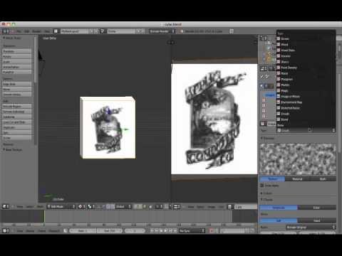 Easy uv unwrapping w/ texture atlas blender beginner tutorial.