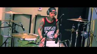 Travis Barker Recording Drums for Dogs Eating Dogs