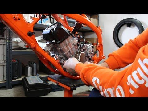 Der Motor kommt rein // Teil 2 // KTM SMR 450 2019 // Sumo fighters