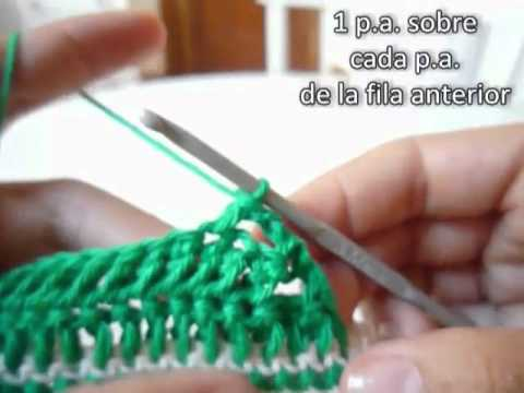 Zapatos ALL STAR para bebé a crochet - Parte 2 de 2 - YouTube