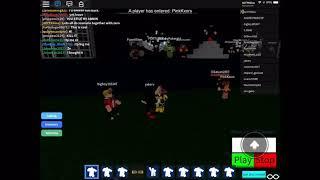 The creator of Roblox Scenario emote hangout joined my server...