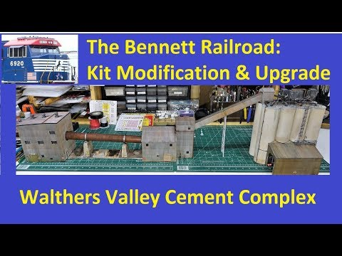 Kit Modification Series: Walther's Valley Cement Complex