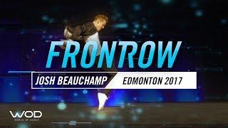 Josh Beauchamp | FrontRow |  World Of Dance Edmonton Qualifier 2017 | #WODEDM17