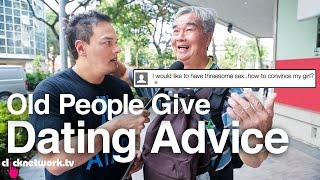 Old People Give Dating Advice - The Click Show: EP18