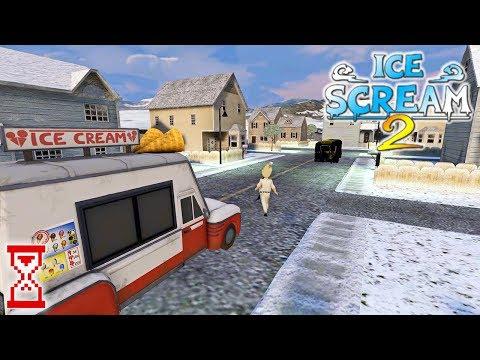 Topsy News | Мороженщик помогает выбраться за карту | Ice Scream 2