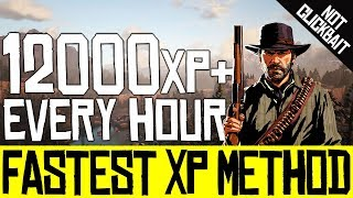 FASTEST XP Method - *Working Now* - Level Up Fast - No Glitch - Red Dead Online - Quick Guide - RDR2