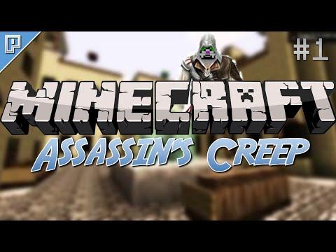 Minecraft: SPIDER ASSASIN PARKOURING! (Assassin's Creep Part 1)