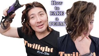 How to FAKE a PERM