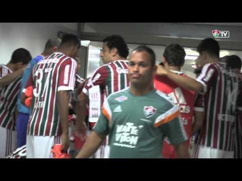 FluTV - Bastidores - Fluminense 2 x 0 São Paulo - Camp. Brasileiro 2015