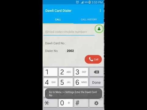 Dawli Card Dialer (Qatar)