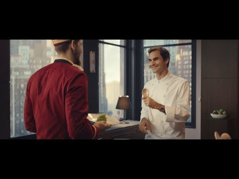 Barilla | Masters of Pasta - Roger Federer cooks in NYC