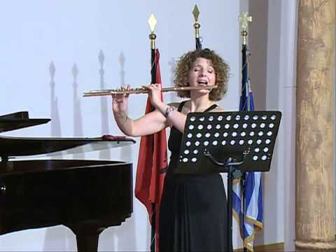 Concert in the Opera of Tirana. Flute: Anna-Majlinda Spiro,