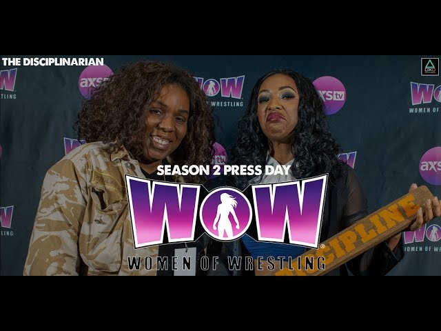 WOW: Women of Wrestling Press Conference - The Disciplinarian