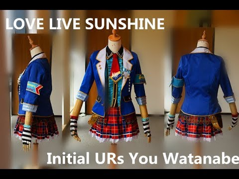 Unboxing - Love Live Sunshine Aqour Initial URs You Watanabe Cosplay Costume UWOWO Cosplay
