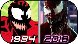 EVOLUTION of CARNAGE in Movies, Cartoons, TV (1994-2018) Carnage vs Venom 2018 trailer 2 movie scene