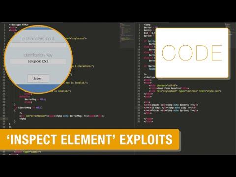 """Avoid """"Inspect Element"""" exploits (Coding Tips"""