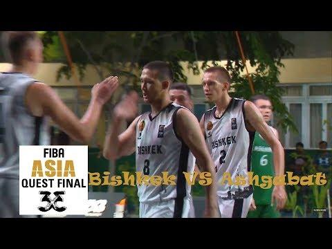Bishkek(KGZ) Vs Ashgabat(TKM) -Men's Full Game-FIBA 3x3 Asia Quest Final Male, Maldives 2019