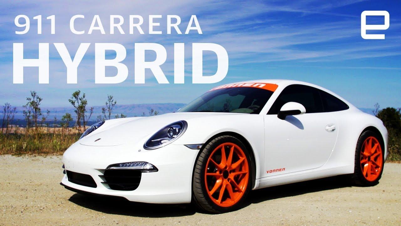 Porsche 911 Gets A Power Boost From Vonnen Built Hybrid System Youtube