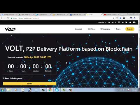 Volt ICO Review~~VOLT, P2P Delivery Platform based on Blockchain