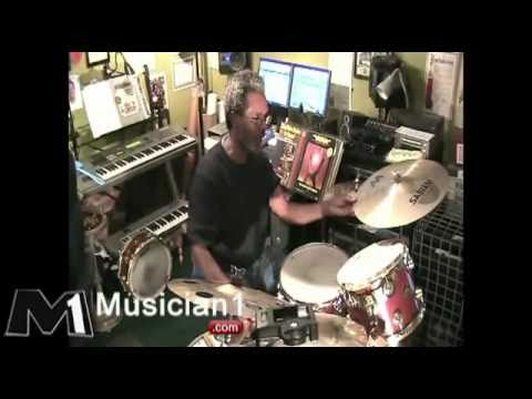 YouTube - War Why Can't We Be Friends Spill The Wine Harold Brown Drum Clinic.flv