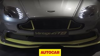 Aston Martin Vantage GT8 Uncovered | Autocar