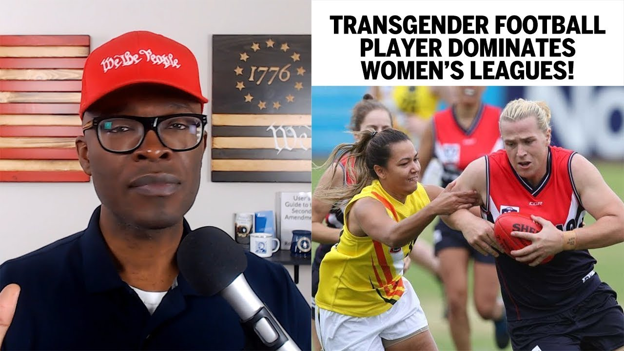 Trans Australian Football Player DOMINATES Women's Leagues! UNFAIR? ABL