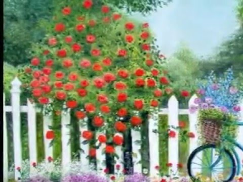 Moje Cvijece U Ulju Na Platnu My Flowers In Oil On Canvas Youtube
