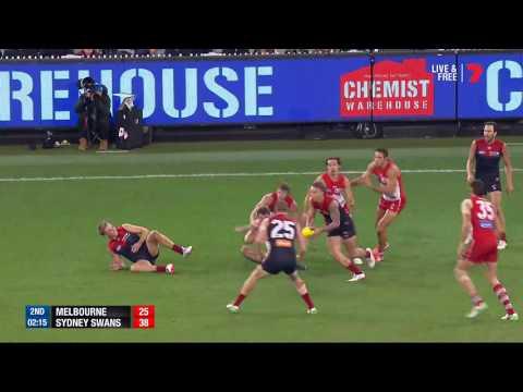 Round 15 AFL - Melbourne v Sydney Swans Highlights
