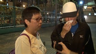 Hong Kong residents cried over election results