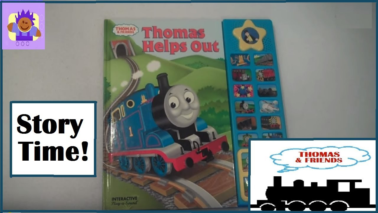 2003 Thomas And Friends Thomas Helps Out Child S Book