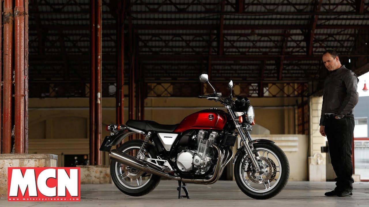 Honda Cb1100 First Rides Motorcyclenews Com Youtube