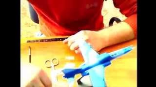 Видео урок нанесения декалей и масок на модель самолетов