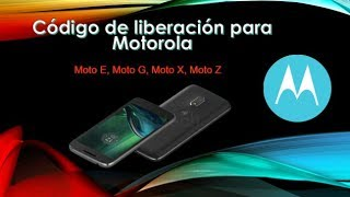 Red Código De Desbloqueo Servicio Para Motorola Moto G4 E G X 1 2a 3rd 4