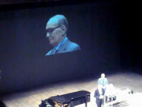 Ennio Morricone a Pisa - Conferenza del 19-01-2012