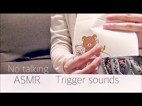 【音フェチ】[無言] Trigger sounds  -binaural-【ASMR】