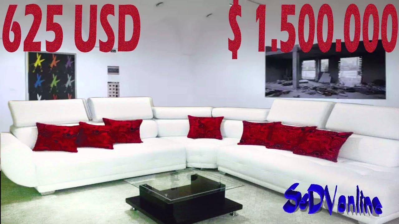 Fabrica de salas en bogota venta de muebles hogar youtube - Muebles de sala ...