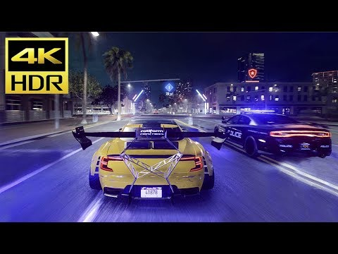 NEED FOR SPEED HEAT (PS4 Pro) 4K HDR Gameplay @ ᵁᴴᴰ ✔