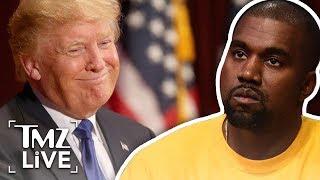 Kanye West: I Love Trump! | TMZ Live